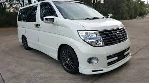 nissan elgrand e51 highway star sun origin motors