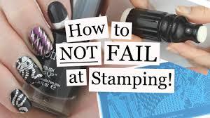 how to not fail at stamping nail art tutorial nailed it nz