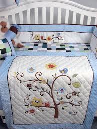 Sock Monkey Baby Bedding Amazon Com Soho Baby Blue Cherry Tree Nursery Bedding Set 14 Pcs