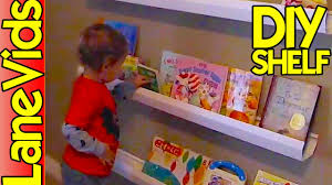 diy shelf ideas diy kids bookshelf from rain gutters