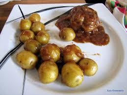 cuisiner des paupiettes de veau au four paupiette de veau accompagné de grenailles le des commis