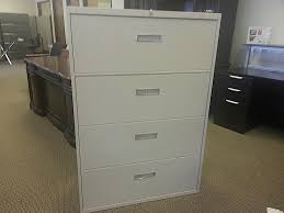 Used Lateral File Cabinets Steelcase 4 Drawer 800 Series Lateral File Cabinets