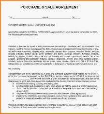 vehicle sales agreementsample sales agreementjpg lettersample