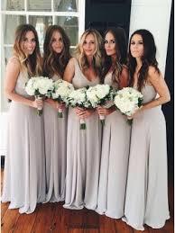 light gray bridesmaid dresses cheap bridesmaid dresses long short dresses romprom com