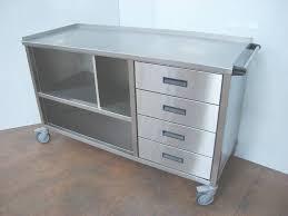 meuble cuisine inox brossé meuble de cuisine inox professionnel conception de maison