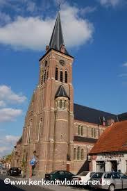 Pinte by Sint Niklaas Van Tolentijnkerk De Pinte B 9840