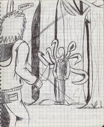 creepypasta slenderman vs jeff the killer by anykarttquett14 on