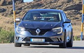 new renault megane 2016 all new renault megane rs comes out to play