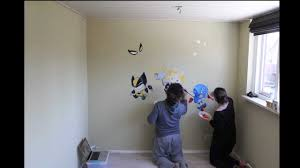 Paint Room Marvel Baby Superheroes Baby Room Wall Painting Youtube