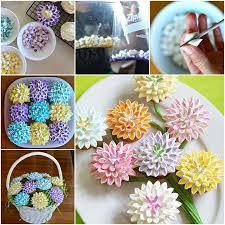 cupcake flowers wonderful diy marshmallow flower cupcake topping