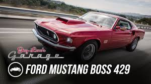 1969 ford mustang boss 429 jay leno u0027s garage youtube