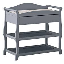 Change Tables Storkcraft Aspen Changing Table With Drawer Grey Change Tables