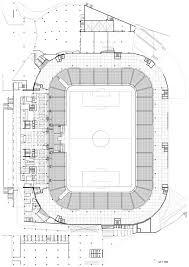 Stadium Floor Plan by