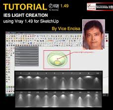 sketchup texture tutorial vray 1 49 for sketchup ies light creation