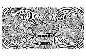 psychedelic 4 psychedelic coloring pages for adults justcolor