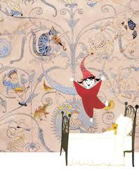wallpaper cat illustration wendy and the wallpaper cat victoria and albert museum