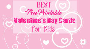 kids valentines day cards best free printable cards for kids s day 2018
