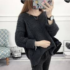 black sweater womens pullover womens jumpers 2017 knitted black sweater s autumn