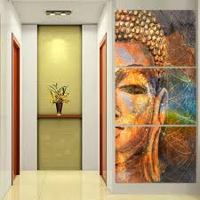 colors of buddha canvas art anjuna lane