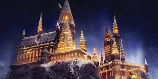 harry potter halloween feast background christmas is coming to harry potter u0027s wizarding world