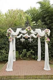 wedding ceremony canopy best 25 outdoor wedding canopy ideas on outdoor
