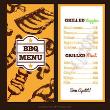 catering menu template 30 food drink menu templates design shack