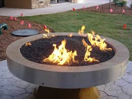 Lava Rocks For Fire Pit by Outdoor Fire Pit Ideas Using Fire Glass Modern Outdooor Fireplace
