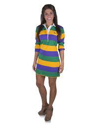perlis mardi gras polo stripe mardi gras rugby dress