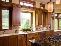 tile floors rustic style kitchen cabinets downdraft electric