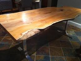 Yew Dining Table And Chairs Waney Edge Furniture Search Wood Pinterest