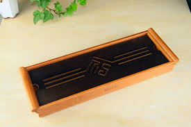Bamboo Table Top by Black Tabletop Chinese Gongfu Tea Serving Bamboo Table Water Drip