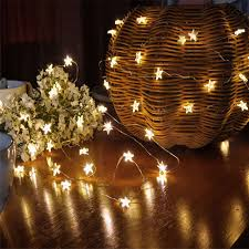 guirlande lumineuse pour chambre 10 led étoile lumière confortable cordes guirlande lumineuse pour