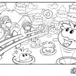 coloring pages of club penguin club penguin coloring pages club penguin island cheats
