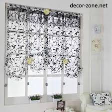 ideas for kitchen curtains curtain ideas for narrow windows innovative kitchen curtains for