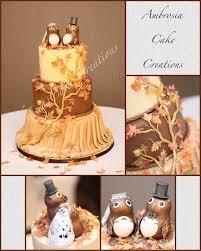 theme wedding cake fall theme wedding cake ambrosia cake creations