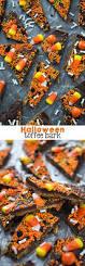 halloween toffee bark crazy for crust