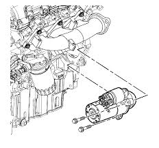 repair instructions off vehicle starter installation 2007