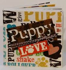 dog scrapbook album dog scrapbook mini album puppy scrapbook album by bellaboutique23