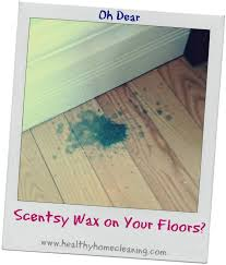 how to clean spilled scentsy wax from your walls and floors