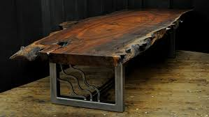 Slab Coffee Table by Dorset Custom Furniture A Woodworkers Photo Journal A Live Edge