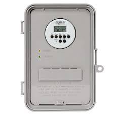 how to set light timer intermatic intermatic 40 amp auto volt digital industrial timer switch gray