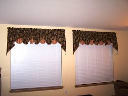 valances window treatments living room with drapes furniture