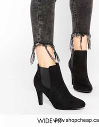 s high heel boots canada 2016 boots look wide fit black heeled ankle boots