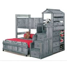 Bunk Bed Fort Driftwood Rustic Loft Bed Fort Rc Willey