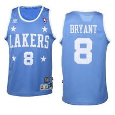 lakers light blue jersey kobe bryant 8 lakers adidas nba throwback swingman jersey light