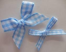 blue gingham ribbon blue gingham ribbon etsy studio