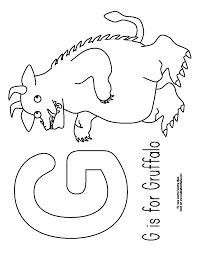 printable gruffalo colouring sheets colouring sheets gruffalo