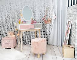 childrens dressing tables with mirror and stool childrens vanity table mirabrandedkids designs