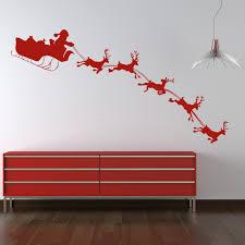 28 christmas wall stickers uk christmas tree wall decals christmas wall stickers uk santa and sleigh wall stickers christmas wall decal art ebay