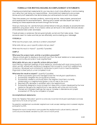 exles for resume accomplishments exles resume exles of resumes